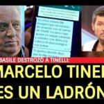 Basile: «Tinelli es un ladrón»