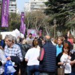 Miles de personas en el Festejo del Año nuevo Judío